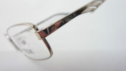 Stretta occhiali vogue per mezza argento montatura occhiali frame