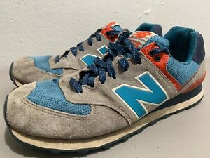 sports shoes 6445f 083e4 Details about New Balance 574 Out East ML574SOE Gray Suede ENCAP Retro  Running Shoes Mens 10.5