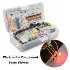 For Arduino 830 Breadboard Cable Resistor Electronics Component Starter Kit Repl