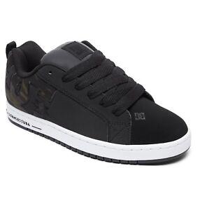 La-vendita-da-Uomo-DC-Shoes-Court-Graffik-Se-Scarpe-Da-Ginnastica-Nero-Mimetico-Scarpe-Skate-in