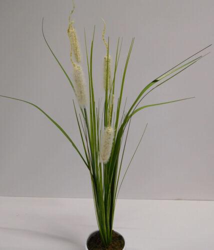 Grasbusch Gras Ziergras Kunstpflanze Dekopflanze 70 cm 52416-05 ungetopft F48