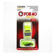 Fox 40 Sonik Blast CMG Pealess Safety Whistle 120 DB Neon Green - 9203-3608