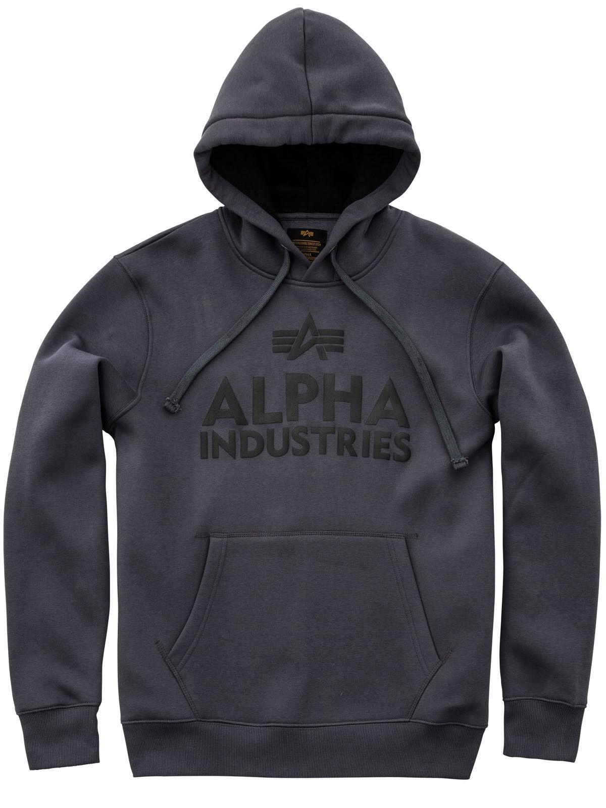Alpha Industries 136 Foam Print Hoody Capuche Gris 143302 136 Industries #6190 eda766