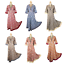 Womens-Asian-Indian-Party-Maxi-Evening-Cocktail-Gown-Dress-UK-Size-S-M-L-XL thumbnail 1