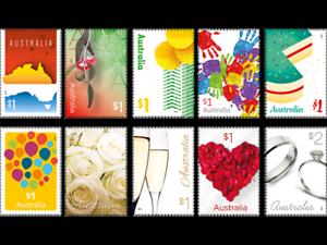 Image Is Loading 2016 LOVE TO CELEBRATE MUH Australian Stamp Set
