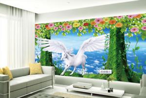 3D Himmel Pegasus 588 Tapete Tapeten Mauer Foto Familie Tapete Wandgemälde DE