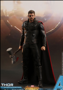 Hot Juguetes Avengers  Infinity War 1 6 Scale Thor Figura MMS474 PREORDER