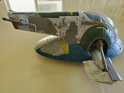 Star Wars Slave One aile gauche  2001 boba Fett Spaceship Toy Hasbro.
