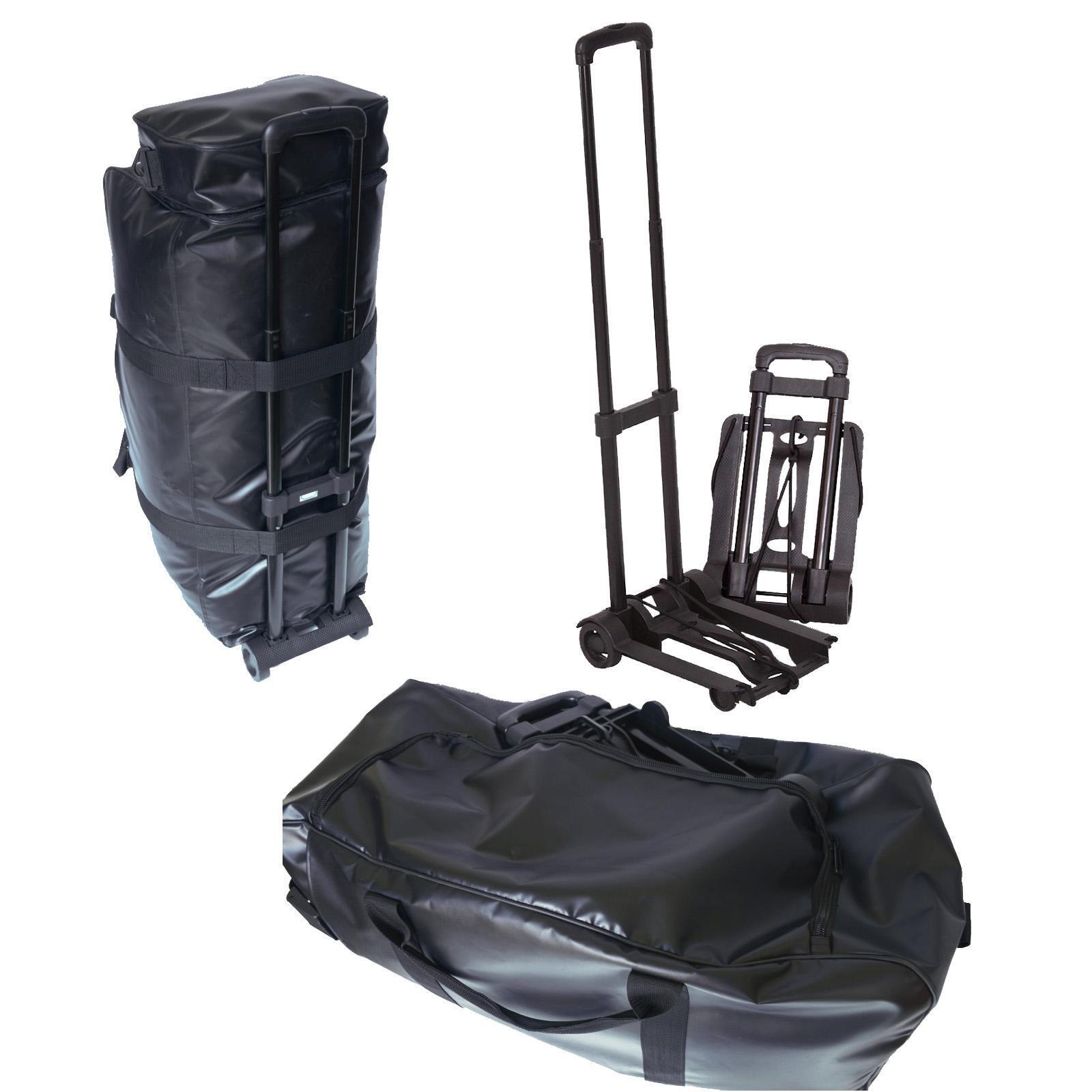 Kurma Historic - Sturdy Diving Bag with Trolley