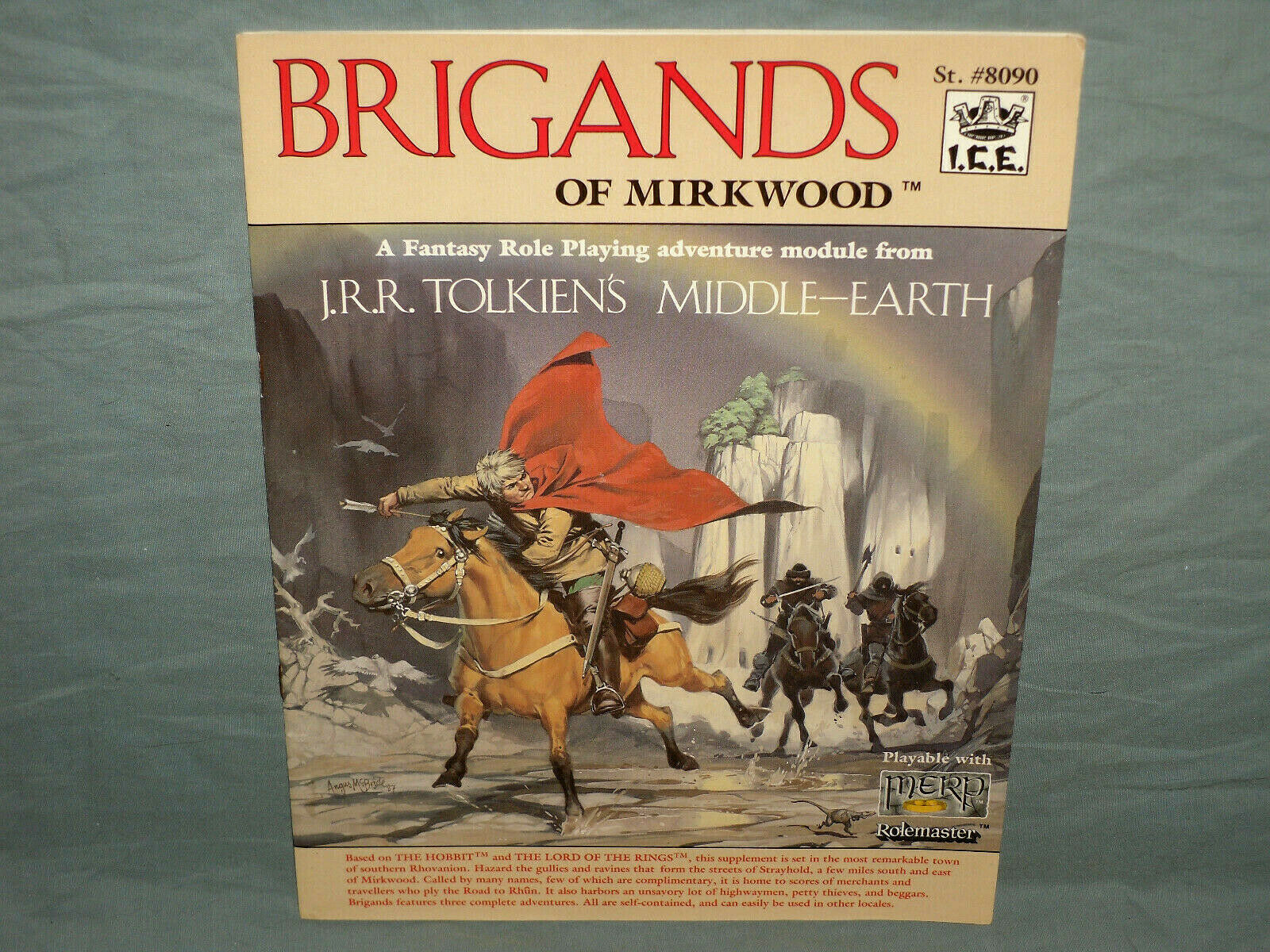 ICE MERP 1st Ed Adventure  -  BRIGeS OF MIRKWOOD  (HARD TO FIND e NR MINT  )  i nuovi marchi outlet online