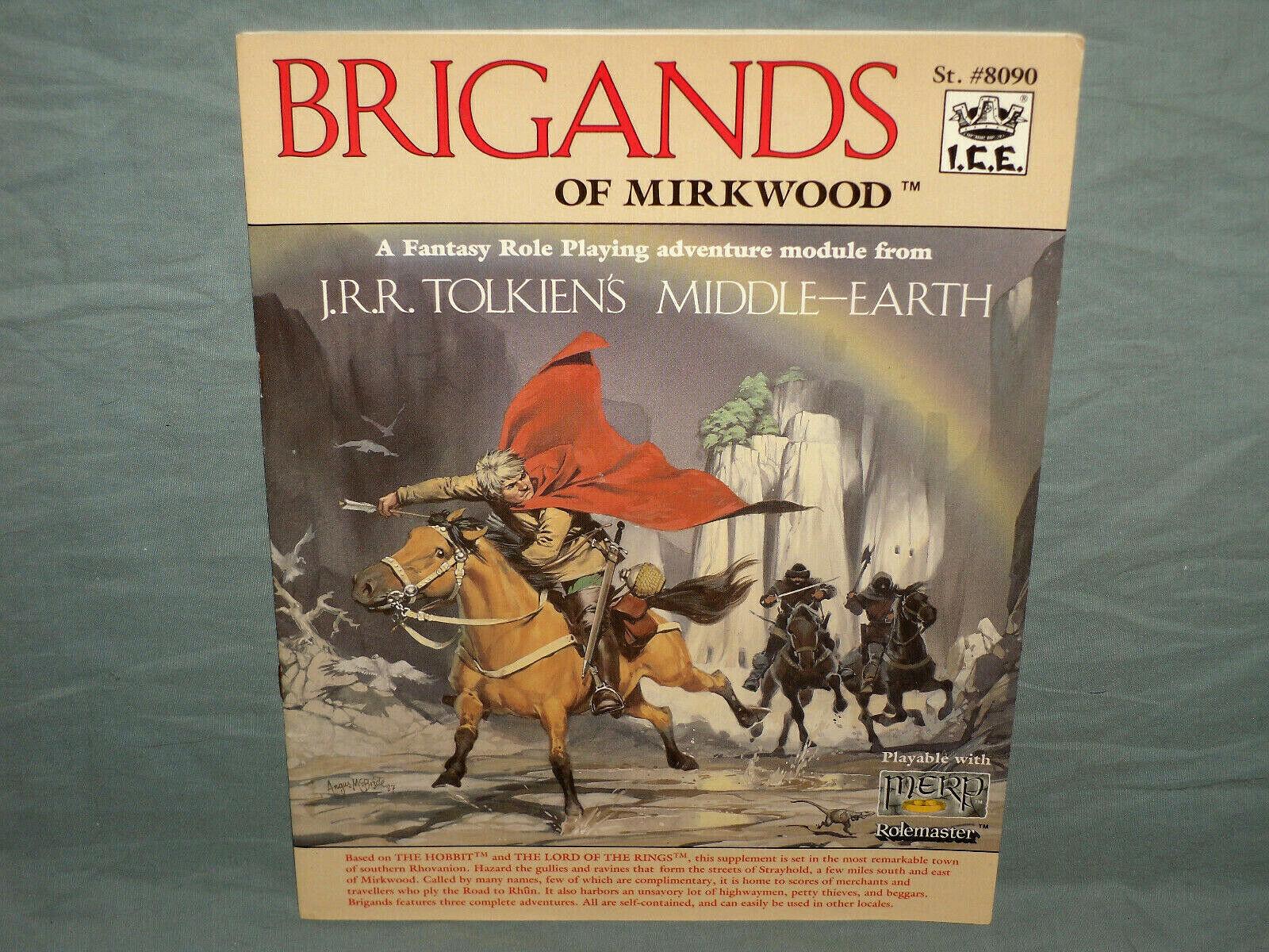 ICE  MERP 1st Ed Adventure -  BRIGeS OF MIRKWOOD  (HARD TO FIND e NR MINT  )  economico e alla moda