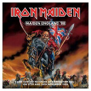 IRON-MAIDEN-Maiden-England-039-88-2013-2x-CD-Remastered-NEW