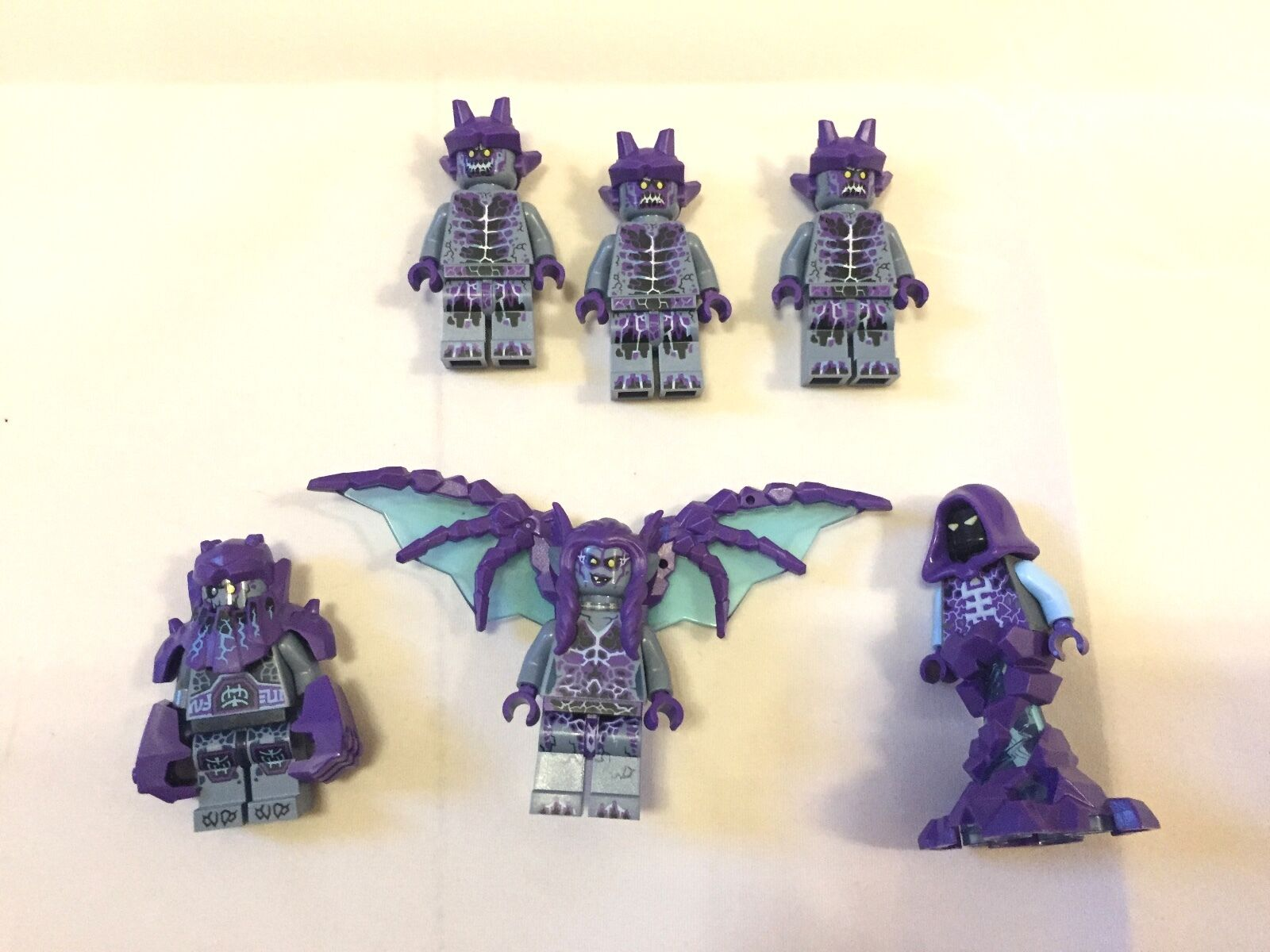 Lego Nexo Army Harpy Roog Rogul Shrunken mini figure from 70353  70350 70348