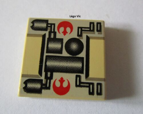 Lego 3068bps1 TanTile 2x2 Star Wars Rebel Mechanical du 7130 7150 6212 4502 MOC