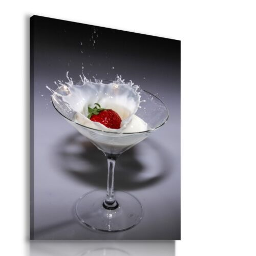 COCKTAIL SOYA MILK DRINK Canvas Wall Art Picture Large SIZES DR6 MATAGA