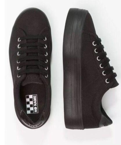 OCR * Para Mujeres Con Cordones Zapatillas sin nombre Platón Negro Talla EU 41