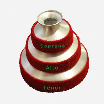 SOPRANO +ALTO + TENOR Saxophone Sax Mute Dampener RED Color AL