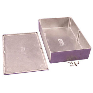 Hammond-1550-Diecast-Aluminium-Enclosure-222x146x55mm-Project-Case-Box