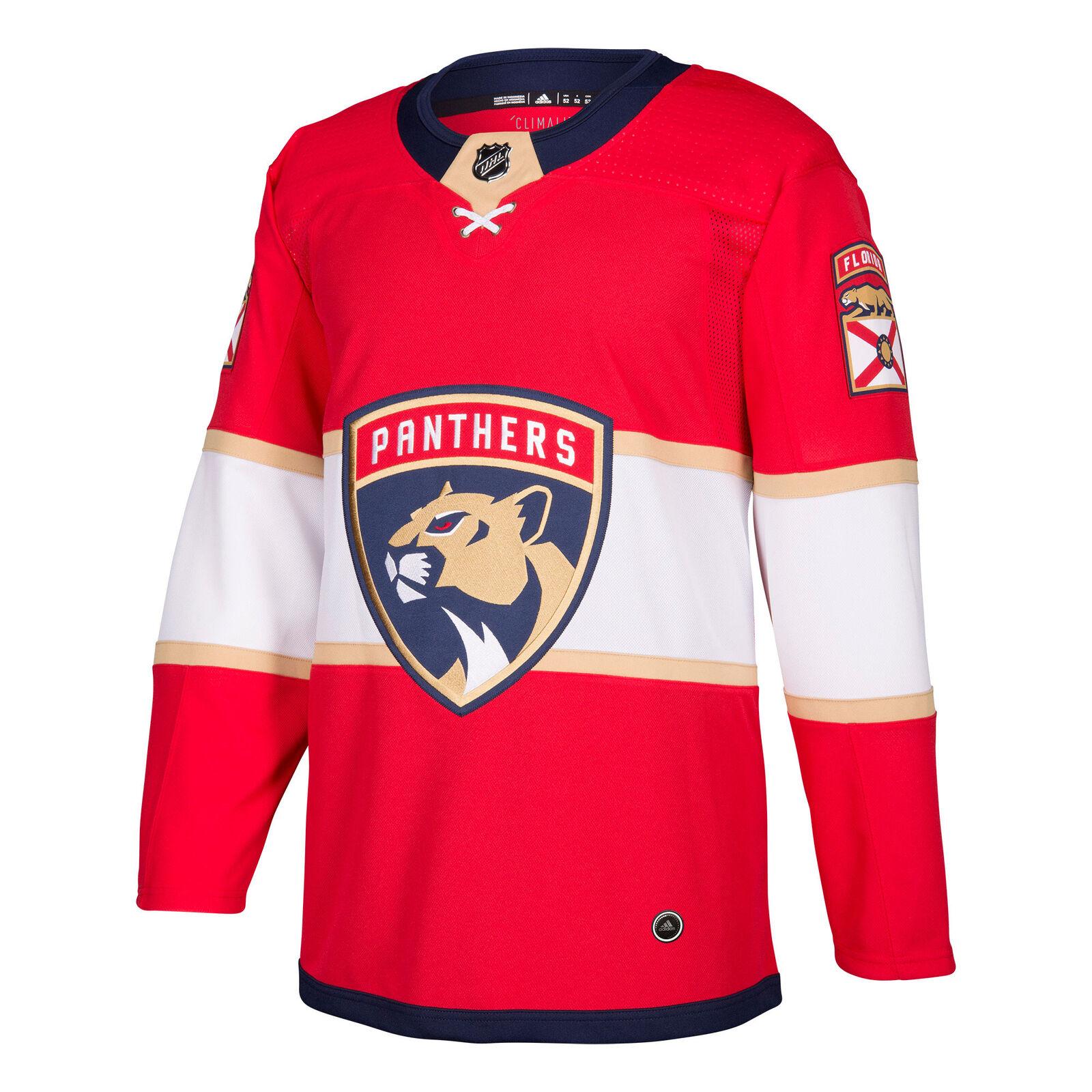 NHL Florida Panthers Adizero Heim Authentisch Pro Trikot Sport Hemd Shirt Unisex