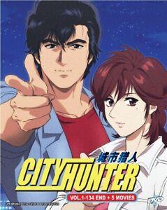 DVD Anime City Hunter Complete TV Series (1-134 End + 5 ...