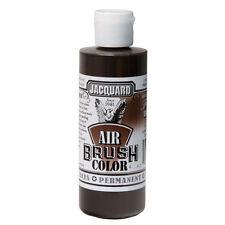 Jacquard Air Brush Colours Paint for Shoes / Sneakers - Transparent Brown - 4oz