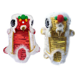 13182f88a Image is loading Puppy-Dog-Pet-Chinese-Traditional-Lion-Dance-Cosplay-