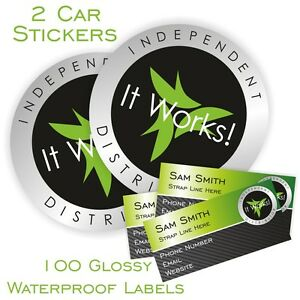 it works glossy sticker pack car stickers and glossy labels ebay