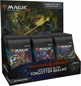 MTG  D&D Adventures In The Forgotten Realms Set Booster Box NEW Factory Sealed