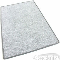 Misty Gray Indoor Outdoor Area Rug Carpet Non-skid Marine Backing