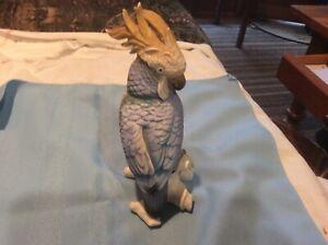 Vintage Cockatoo Figurine