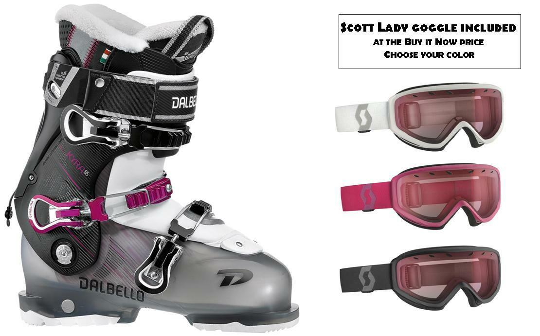 Dalbello Kyra 85 ski Stiefel Größe 26.0 (GOGGLES incl at Buy it Now) New 2018