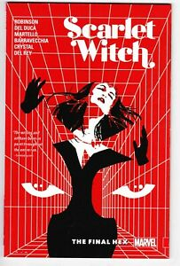 Scarlet-Witch-The-Final-Hex-Marvel-Graphic-Novel-TPB-NM-Free-Shipping
