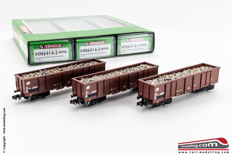 ARNOLD HN6414 - N 1 160 - Set 3 Carri merce con carico redtami FS modello Eaos e