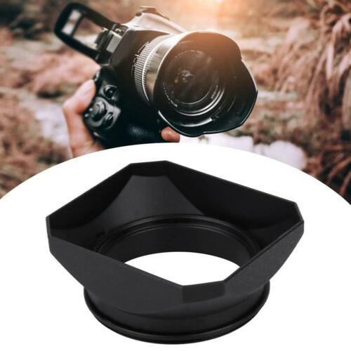 55 mm Sonnenblende Gegenlichtblende für DSLR DSLM Kamera Objektiv schwarz
