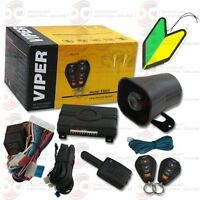 2013 Viper 1-way Car Alarm Security System with Keyless Entry with Squash Air
