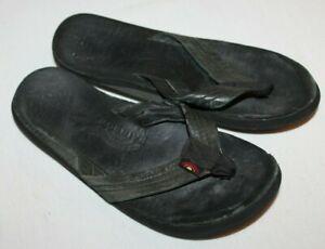RAINBOW Sandals Flip Flops Black