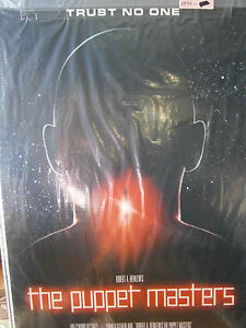 Authentic The Puppet Masters Movie Poster 1994 Donald Sutherland Sci