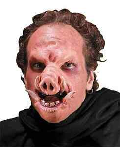 image is loading snort pig saw animal scary fancy dress halloween