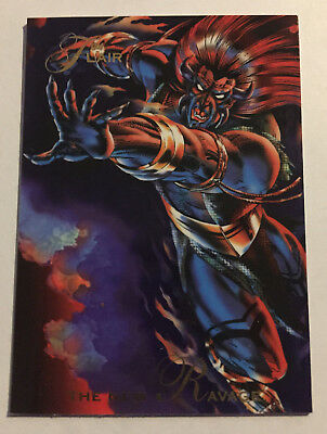 1994 Flair Marvel Annual Trading Card #117 The New Ravage