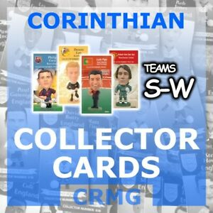CRMG-Corinthian-ProStars-COLLECTOR-CARDS-TEAMS-S-W-choose-from-list