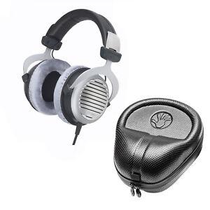 beyerdynamic dt 990 pro 250 pro acoustically open headphones w slappa hard case 644766178926 ebay. Black Bedroom Furniture Sets. Home Design Ideas