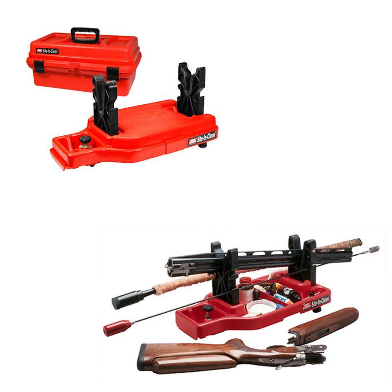( Sncc ) Site-In-Clean Ajustable Escopeta Rifle Limpieza Descanso y Caja por MTM