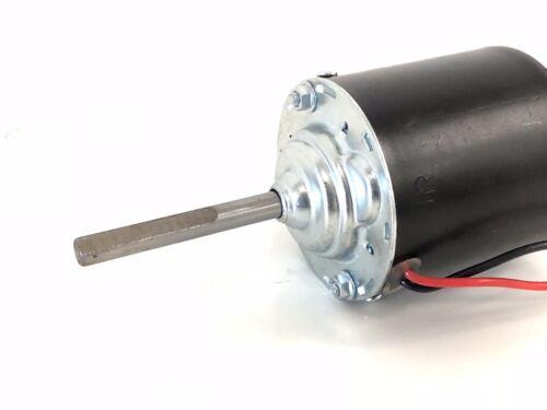 Blower Motor Dual D-Type Shaft 12 Volts