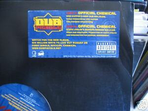 Dub-Pistols-Official-Chemical-12-034-Low-Shipping-2001