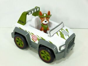 Paw-Patrol-Tracker-Pull-Back-Explorer-Lights-amp-Sounds-Vehicle-Jungle-Cruiser