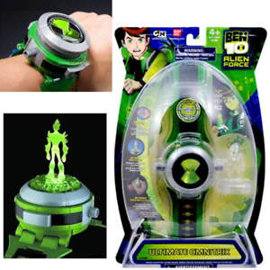 Ben10 ten alien force projector watch omnitrix illumintator bracelet toys gift ebay for Bracciale ben ten