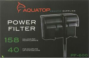 Aquatop-Hang-on-Power-Filter-PF-600-for-up-to-40-Gal-Aquariums