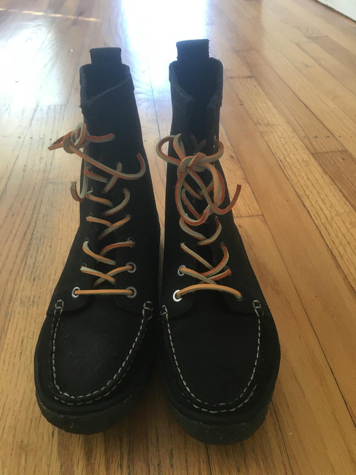 Nuevas botas Seavees Negro 7 Ojo Trail Mujer 10