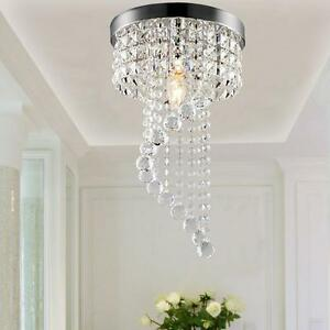 Modern crystal led ceiling lights pendant lamp aisle lights image is loading modern crystal led ceiling lights pendant lamp aisle mozeypictures Gallery