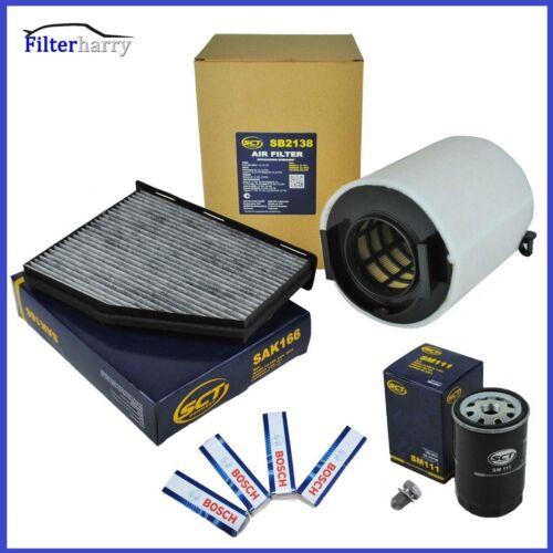Inspektionspaket Filterset Filtersatz Audi A3 8P 1,6 75KW 102PS BGU BSE BSF